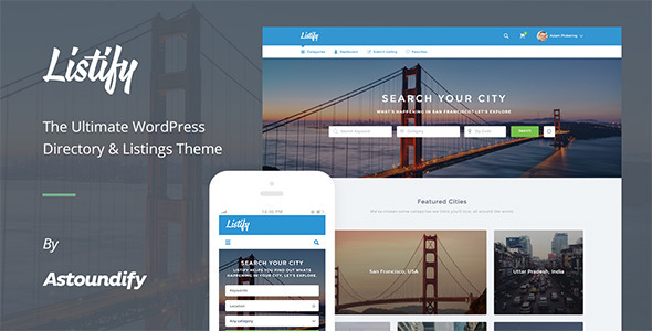 listify wordpress directory theme review