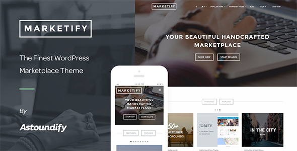 marketify digital download wordpress theme