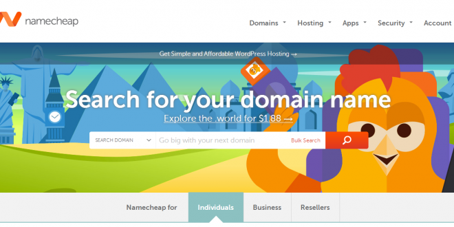 namecheap shared hosting for marketplace build