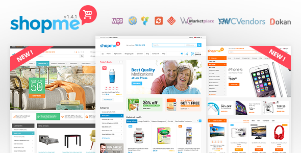 shopme wordpress theme marketplace