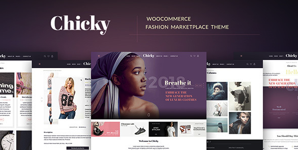 chicky wordpress theme