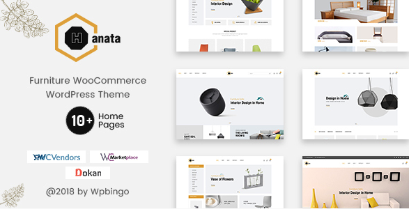 hanata wordpress theme