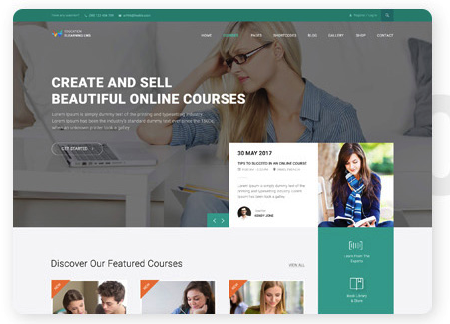 wordpress lms course builder